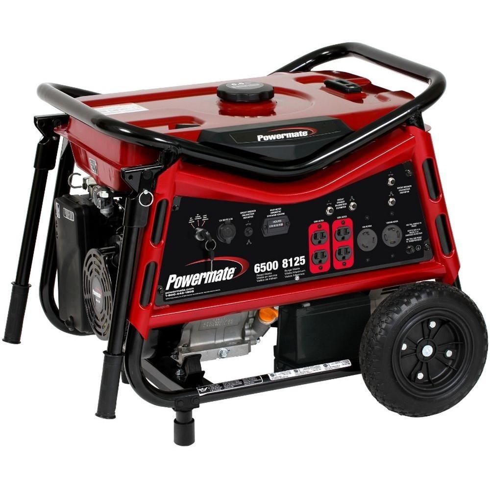 Generador planta de luz powermate 6500w 8250w - Generador de luz ...
