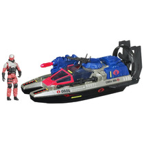 Gi Joe, Cobra Fangboat, Swamp Viper, Vehiculo Anfibio Hasbro