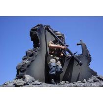 Wwii Dioramas 1/18 Granero O Fuente O Torre O Edificio/daño