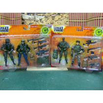 Lote 2 Two Pack Fig 1/18 Elite Force Blue Box Ve Anun P Comp