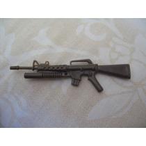 Gijoe 1987 Accessory M203 Attack Rifle W Grenade Launcher