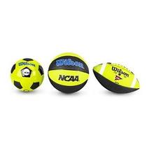 Ncaa Triple Amenaza Del Balón De Fútbol Fútbol Baloncesto Mi