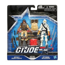 Gijoe - Classic Clash - Spirit Iron Knife Vs Storm Shadow