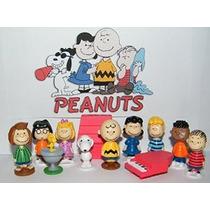 Personajes Peanuts Movie Classic Toy Figura Conjunto De 13 C
