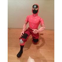 Ninja Rojo - Gi Joe Vs Cobra - Figura 12 Pulgadas Hasbro