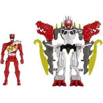 Power Rangers Dino Charge - Deluxe Dino Carga Zord Armor Gua