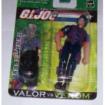 Sgg Gijoe Cobra Televiper 10 Cm C10 Valor Vs Venom Maa