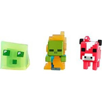 Minecraft Coleccionables Figuras Set I (3-pack), Serie 3