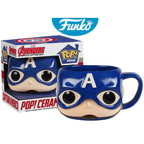 Taza Ceramica Mug Capitan America Funko Pop Home
