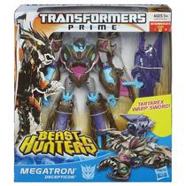 Transformers Prime Voyager Class Bestia Hunter Megatron
