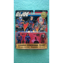 Gijoe 1998 Cobra Command Team