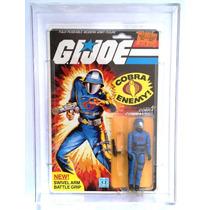 Gi Joe Cobra Commander V1.5 1983 20 Back En Afa Case Moc Op4
