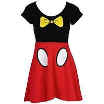 Disney I Am Mickey Y Minnie Mouse Juniors Disfraz Vestido Sk