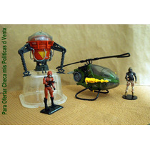 Lee Anunc X Gi Joe Lote 02 Vehiculos Locustus Y Pogo S/fig