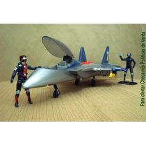Lee Anuncio X Jet Militar C Luz & Sonido Sin Figura