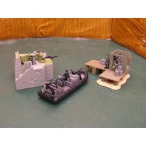 Lee Anunc X Lote Lancha N Seal C 2 Diorama & 11 Figura 1/55