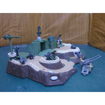 Lee Anunc X Lote Diorama Fortaleza C 8 Fig &c Antiaereo 1/55