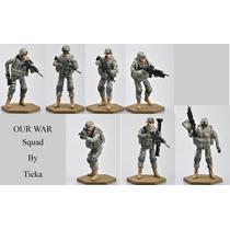 Set De 7 Soldados Tiekatoys Bbi 1 18 Humvee 21st Century Toy
