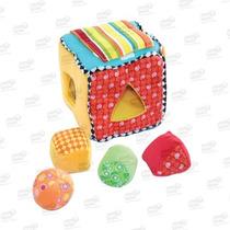 Cubo Blocks De Tela Estimulación Temprana Marca Biyu