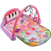 Fisher-price Kick And Play Piano Gym Rosa