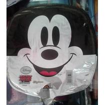 12 Globo Metalico 9pulg Mickey Cara Para Arreglo D Mesa