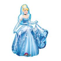 Globo Caminante Gigante Jumbo Cenicienta Princesas Cinderell