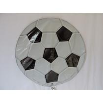Globo Fútbol Balon Fiestas 1 Metálico 18 Pulgadas Eventos