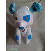 5 Bonitos Figuras Inflable D Perro Mascota De Rosita Fresita