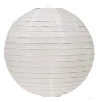 Lamparas Chinas De Papel Globos Blancos Colores