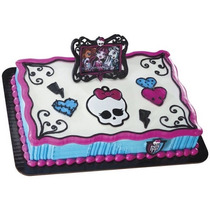 Monster High Decoracion Fiesta Pastel Pastelitos Rock Girls