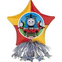 Thomas Tomas Tren Centro Mesa Fiesta Infantil Decoracion Glo