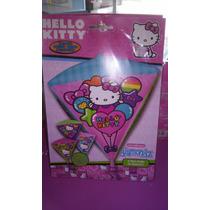 Globo Hello Kitty Ultrashape 4 Lados Diferentes 3 Pzas, $180