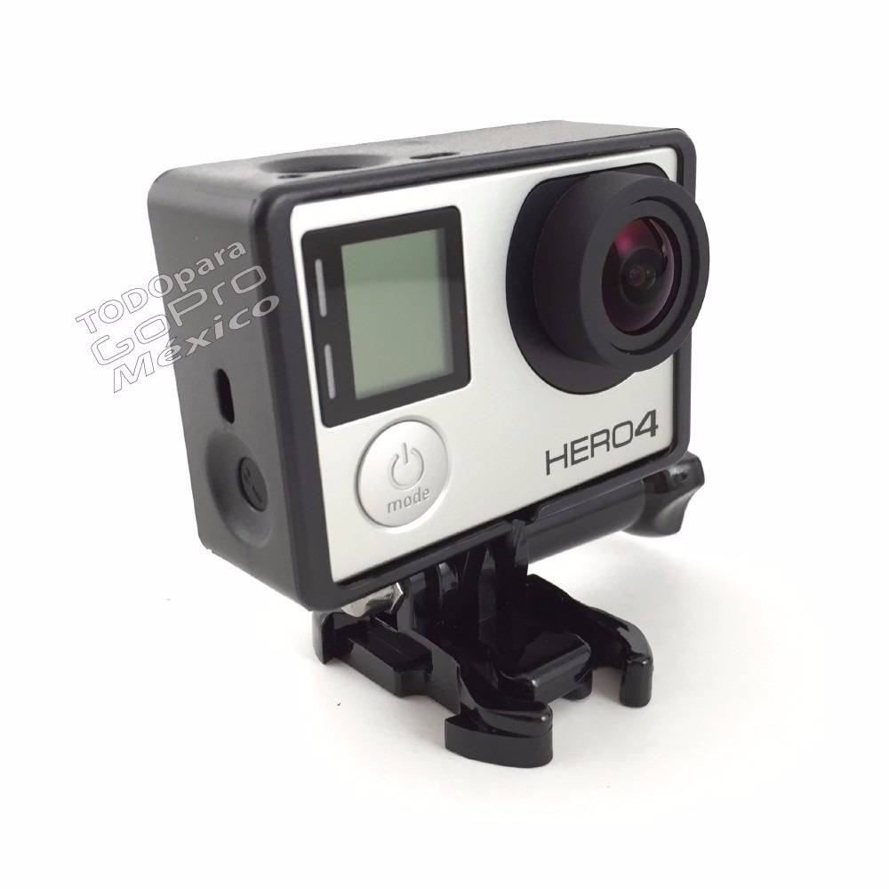 go pro frame marco montura hero 3 3 4 accesorios gopro. Black Bedroom Furniture Sets. Home Design Ideas