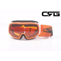 Goggle Motocross Doble Lente Crg