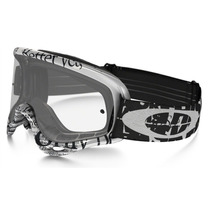 Goggles Oakley O Frame Mx Tagline Black/white - Clear
