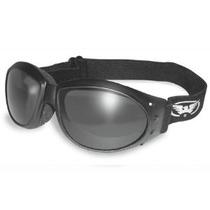 Eliminador De Gafas De Motocicleta Padded Gafas Fumada Lente