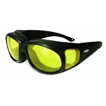 Global Vision Outfitter Motocicleta Gafas (marco Negro / Len