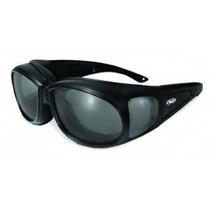 Visión Global Outfitter Motocicleta Gafas (marco Negro / Len