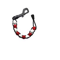 Contador Golf - Bolsa Bead Fácil De Usar Rojo Blanco Llaver