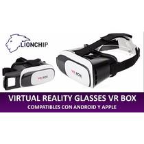 Lentes Realidad Virtual Samsung Iphone Bluetooth Control 3d