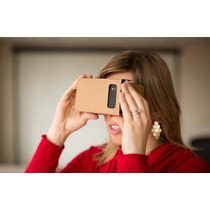 Google Carboard Realidad Virtual Como Oculus Pizza Virtual