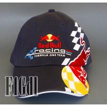 F1 Gorra Oficial Del Red Bull Racing Team Clasica De La F1