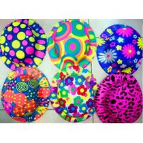 12 Sombrero Bombìn Fosforescente Fiestas Eventos Animaciones