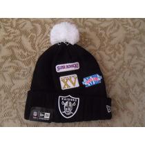 Nfl Oakland Raiders Gorro Conmemorativo 3 Super Bowls Newera