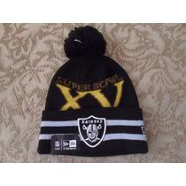 Nfl Oakland Raiders Gorro Conmemorativo Super Bowl Xv