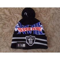 Nfl Oakland Raiders Gorro Conmemorativo Super Bowl Xvlll