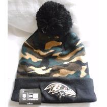 Nfl Baltimore Ravens Gorro New Era Captivate Camo Beanie