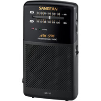 Radio Sangean Sr-35 Am / Fm Analógica Pocket Hm4