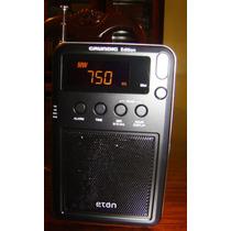 Radio Eton Mini Grundig Edition Am Fm Sw Digital De Bolsillo