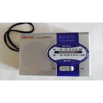 Radio Am/fm Compacto Con Bocina Integrada